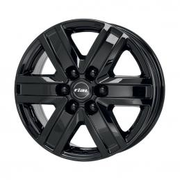 Rial Transporter 6 7x17 PCD6x114.3 ET22 DIA 66.1  Diamond Black