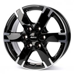 Alutec Titan 7x16 PCD6x139.7 ET55 DIA 93.1  Diamond Black Front Polished